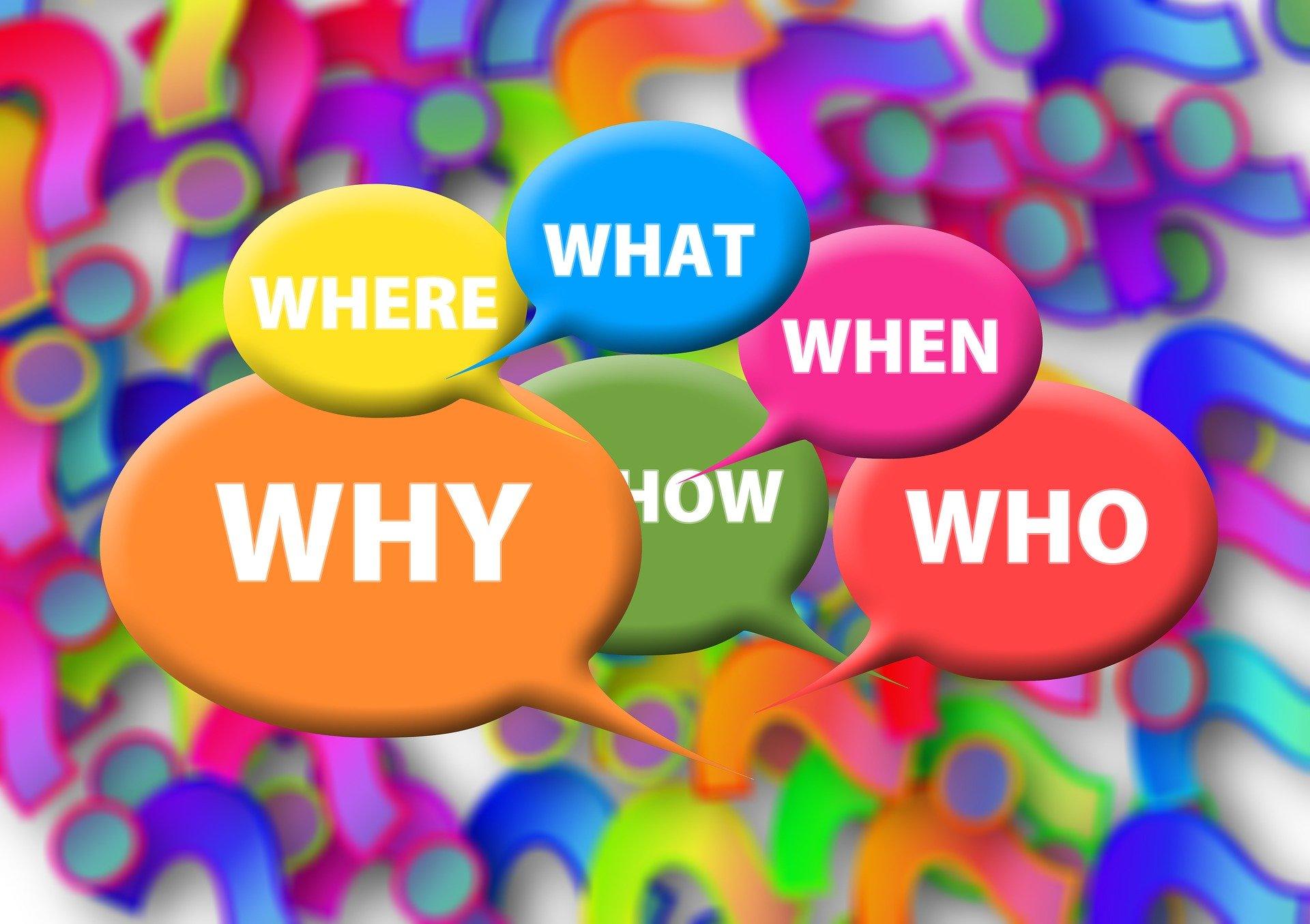 Fragen, Infos