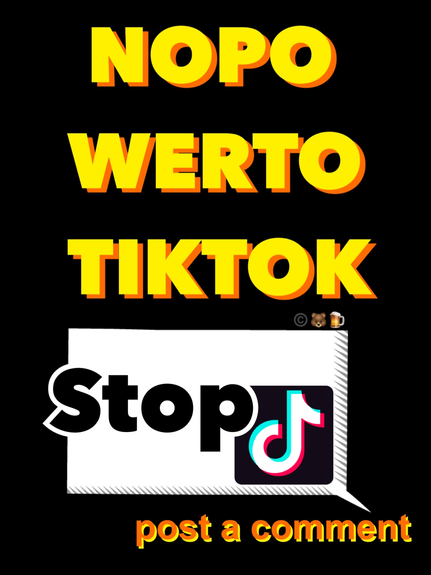 no power to TikTok!