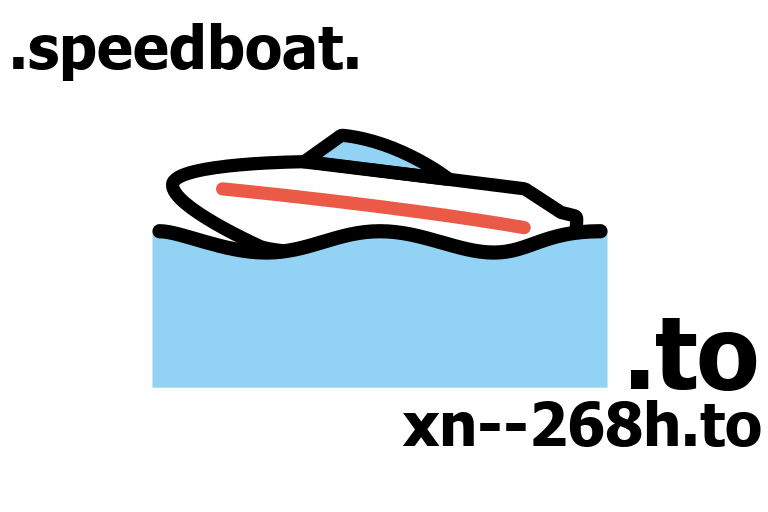 🚤.to, xn--268h.to, speedboat